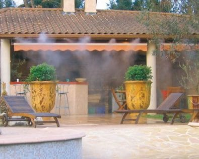 Misting systems: the freshness of the garden!
