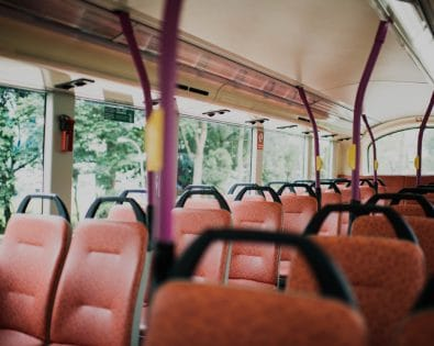 How to disinfect public transport?